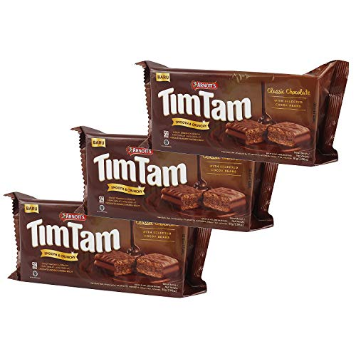 ARNOTT'S Tim TAM Smooth and Crunchy Chocolate Sandwich Biscuit with Selected Cocoa Beans 81GM(Pack of 3) (B0852KRQMN) Amazon Price History, Amazon Price Tracker