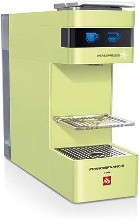 Illy Francis Francis - Cafetera monodosis (1000 W, 19 bares) verde: Amazon.es: Hogar