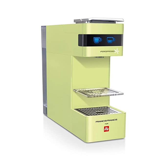 Illy Francis Francis - Cafetera monodosis (1000 W, 19 bares ...