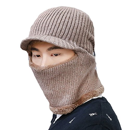 Patinaje Warm Viento Flap Prueba Mens Ushanka Ear De Hiking Khaki Para Unisex A Bomber Winter De Máscara El SOOCO Hat Winter Esquí qzHExH