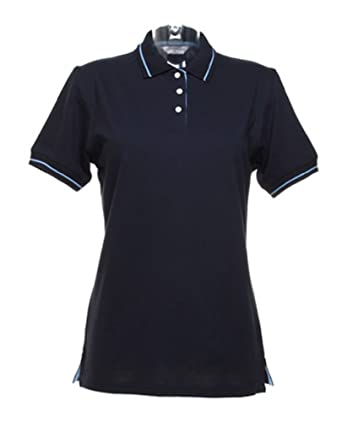 c933590ece13bb Kustom Kit Womens Ladies Plain Short Sleeve Tennis Polo Shirt  Amazon.co.uk   Clothing