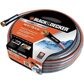 Amazon.com : Black & Decker BD70203 Heavy Duty Garden Hose
