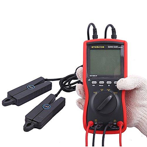 Digital meter- Dual clamp phase meter/digital phase meter - phase meter ETCR4100, Amp Ohm Volt Meter: Amazon.co.uk: DIY & Tools
