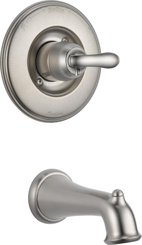 Delta T14194-SS Linden Monitor 14 Series Tub Trim Only, Stainless