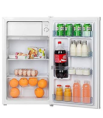 Hoover 120 Liters Free standing Single Door Refrigerator, Silver - HSD92-S