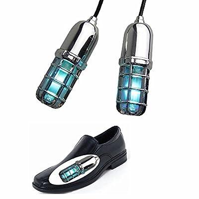 UV Shoe Sanitizer Sterilizer – 99.9% Sterilization through Ultraviolet Light and Ozone Sterilization – Innovative Shoe Disinfectant for Improved Foot Hygiene by