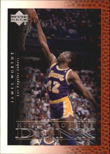 2000 Upper Deck Century Legends Basketball Card (2000-01) #58 James Worthy Near (2000 Upper Deck Legends Card)