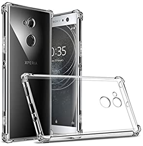 Sony Xperia XA2 Ultra Case, Suensan TPU Shock Absorption Technology Raised Bezels Protective Case Cover for Sony Xperia XA2 Ultra smartphone