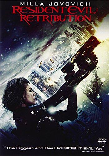 Resident Evil: Retribution DVD
