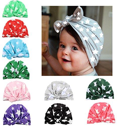WZT Newborn Elastic Toddler Headbands