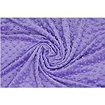 Annlaite-Unisex-Childrens-Soft-Baby-Blanket-Minky-Dot-Sherpa-Fleece-Baby-Blanket-Purple