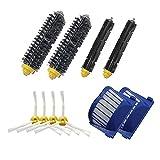 LOVE(TM)2 Blue AeroVac Filter + 2 set main Brush kit +4 side brush for Robot 600 Series 610 620 630 650 660 Vacuum Accessory Replacment