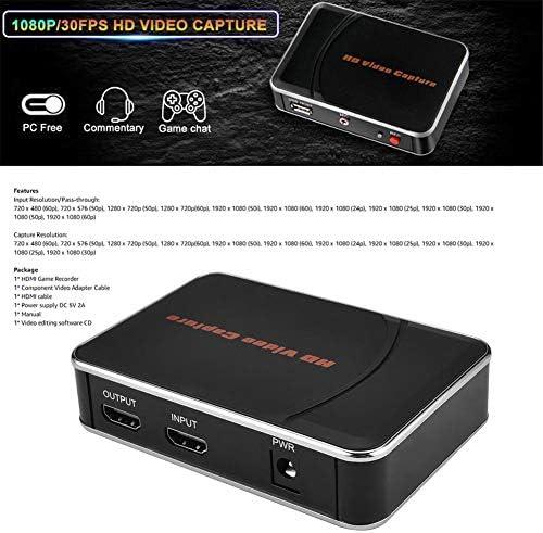 Jinclonder 1080P - Tarjeta de grabación de vídeo HD (1080p, resolución de 720 x 480): Amazon.es: Hogar