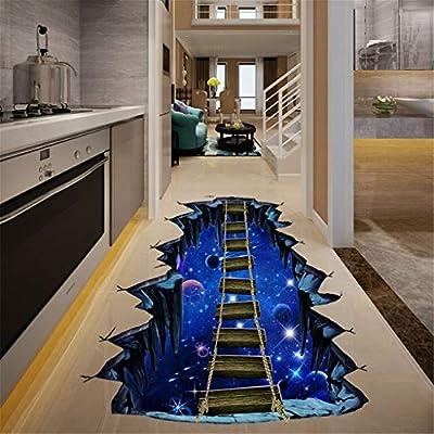 YWLINK 3D Casa De La Familia DIY Etiqueta De La Pared ExtraíBle ...
