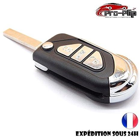 CLE Jongo Citroen DS DS3 DS4 Berlingo 3 botones carcasa ...
