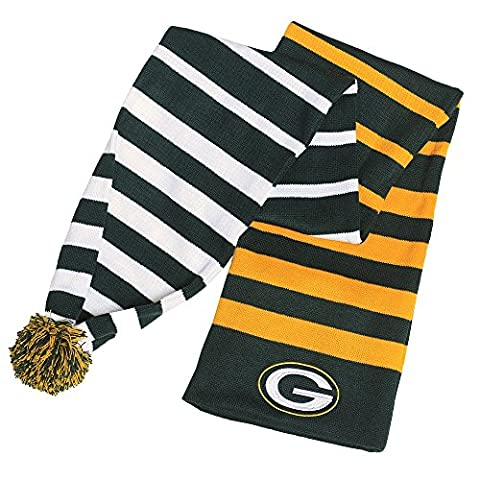 Green Bay Packers Official NFL 2015 Wrap Scarf (Green Bay Packers Hat Scarf)