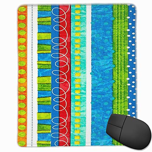 MaoYTUI Mouse Pad,Bug's Life Funky Stripe Design Mousepad Non Slip Rubber Gaming Mouse Pad Rectangle Mouse Pads for Computers Laptop