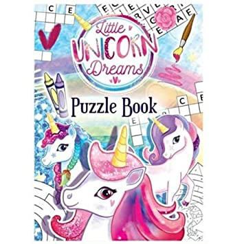 10 girls mini UNICORN JIGSAW PUZZLE toy Party Bags Filler gift