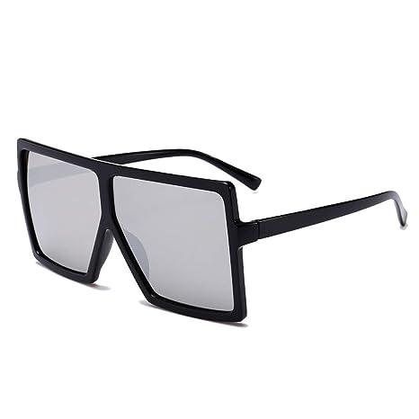 Yangjing-hl Gafas de Sol de Caja Grande de Moda Gafas de Sol ...