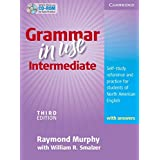 Grammar in Use Intermediate Student's Book with Answers and CD-ROM: Self-study Reference and Practice for Students of North American English (Book & CD Rom)