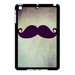 Clzpg Durable Ipad Mini Case - Moustache diy case cover