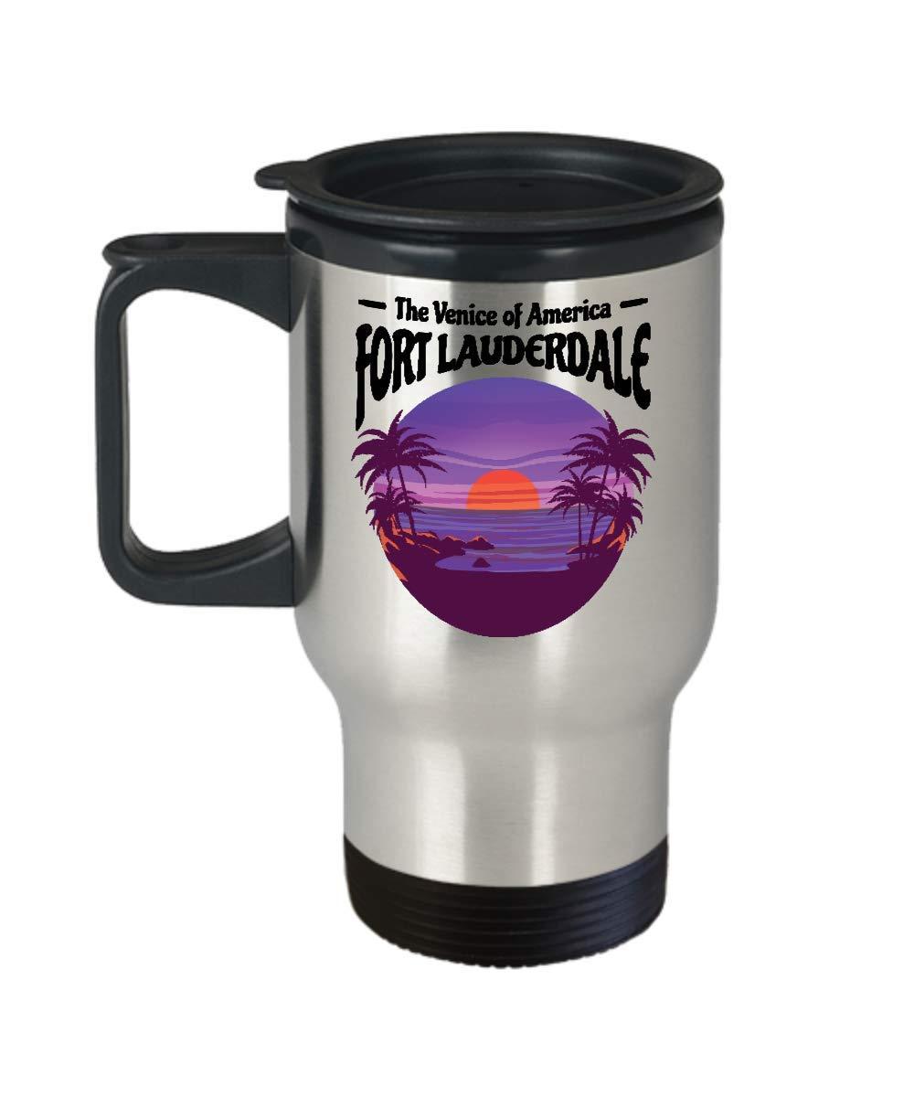 Fort Lauderdale Mug Venice of America Beach Travel Mug