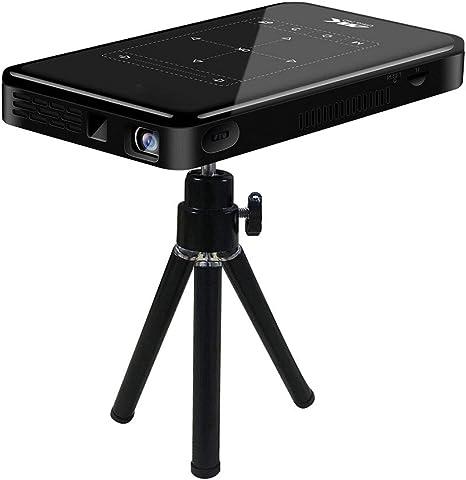 Amazon.com: Ciglow 4K Hd portátil 3D Smart Dlp pantalla ...