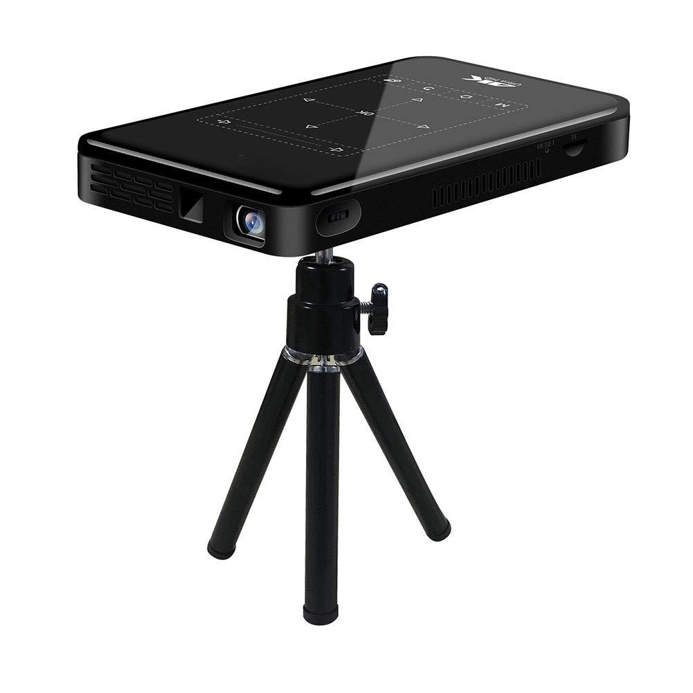3D HD Mugast WiFi スマートプロジェクター ミニポータブル ミニポータブルプロジェクター DLPポケット プロジェクター Android 対応(USプラグ) B07RL7DVMM USプラグ