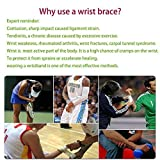 Wrist Brace Widget Support Bands Straps, Hand Brace Wraps Wrist Compression Wrap for Working Out Sport Weightlifting, Wrist Pain Relief, Adjustable