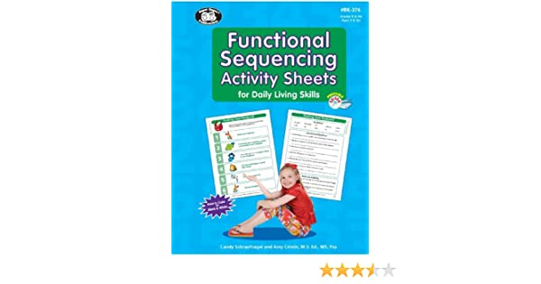 Functional Sequencing Activity Sheets for Daily Living Skills Book ...