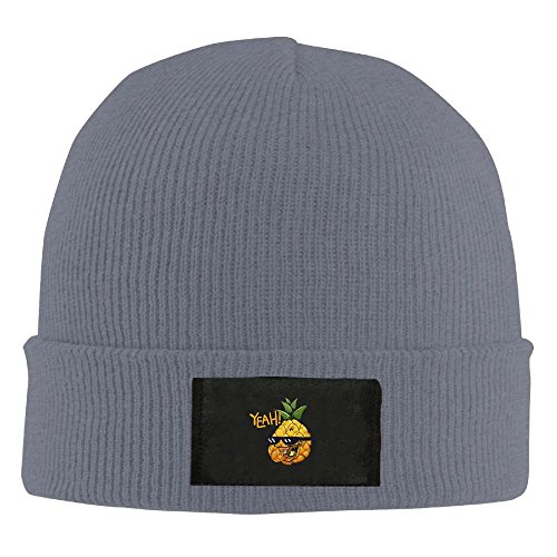 JH SPEED Funny Pineapple With Sunglasses Unisex Fashion Adult Winter Knitted Warm Cap Daily Beanie - Get To Glasses Where Hipster
