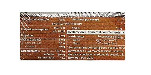 Amazon.com : Chocolate El Mayordomo. The taste of Oaxaca (Semi Bitter, 250 gr) : Grocery & Gourmet Food