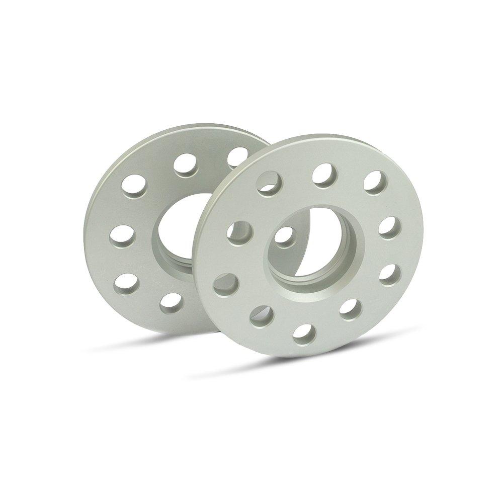 2 St/ück silber eloxiert LK: 112//5+100//5 NLB: 57,1-20mm SCC Spurverbreiterung 12120E