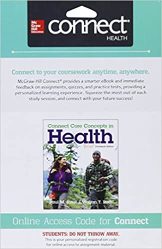 Connect access card for core concepts in health brief paul m connect access card for core concepts in health brief 14th edition fandeluxe Choice Image