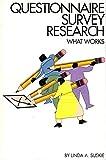 Questionnaire Survey Research 9781882393022