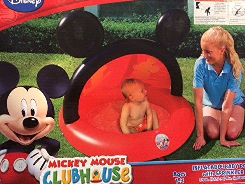 (Mickey Mouse Clubhouse Inflatable Baby Pool with)