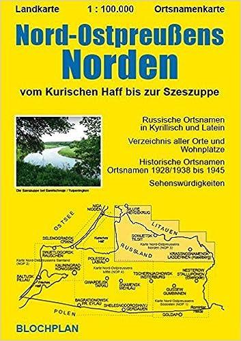 Nop Norden 1 100 000 Vom Kurischen Haff Bis Zur Szeszuppe Dirk