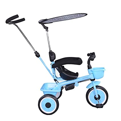 Magnificent Yumeige Trikes Kids Tricyclepush Rod Adjustable Height Ibusinesslaw Wood Chair Design Ideas Ibusinesslaworg