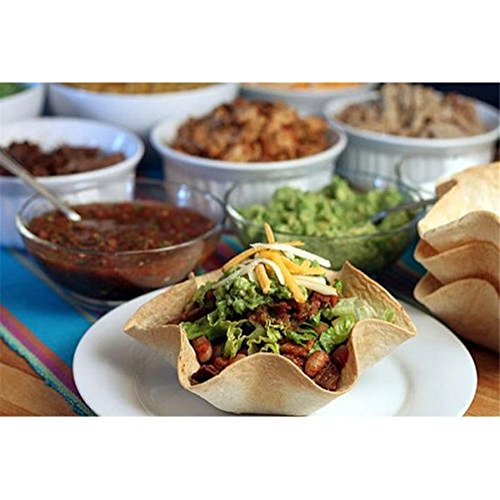 TXIN Nonstick Tortilla Pan Set, Taco Salad Bowl Makers Tortilla Shell Makers, Set of 4 by TXIN (Image #6)