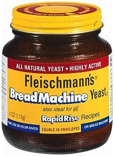 Levadura para máquinas de pan Fleischmann, 4 oz ...