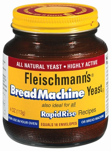 Fleischmann's Bread Machine Jar, 4-Ounce (Pack of 2)