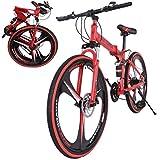 26 Inch Bikes Folding Bicycle Mountain Bike Dual