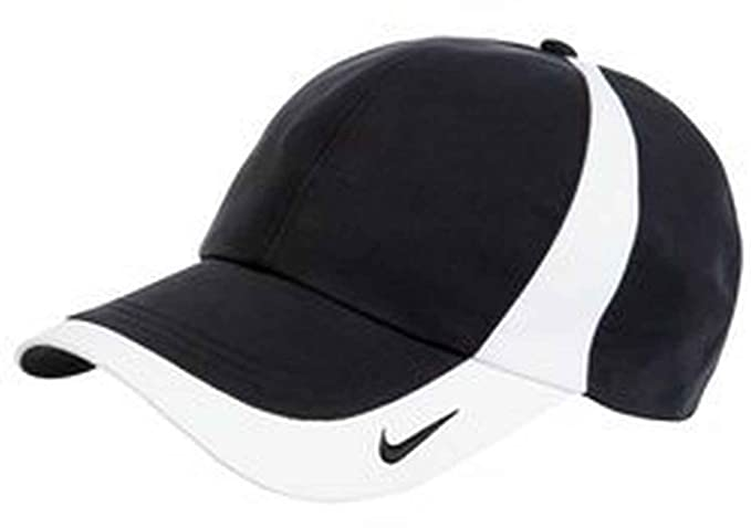 a9e07486208 Nike 354062 Unisex Dri-FIT Technical Colorblock Hat Black White One Size
