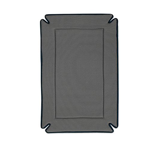 K&H Pet Products Odor-Control Crate Pad Large Gray...