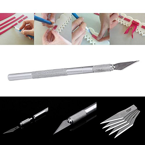 JD Million shop Carving Pastry Knife Cake Decorating Tools Fruit Sculpting Knife Gumpaste Mat Cutting Model Cakes Making Kitchen - Models Old Oakley