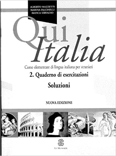 Libro Epub Gratis Qui Italia 2. Quaderno Di Esercizi. Soluzioni