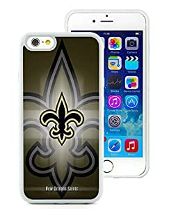 DIY Custom Phone Case For iPhone 6 New Orleans Saints 15 White Phone Case For iPhone 6 4.7 Inch Cover Case