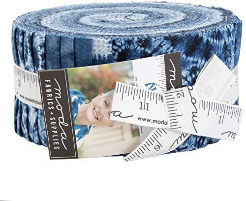 Debbie Maddy Nuno Jelly Roll 40 2.5-inch Strips Moda Fabrics 48040JR