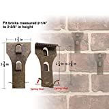 Brick Clips for Hanging, Spring Steel Hanger