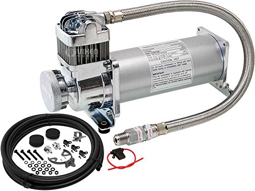 - Vixen Horns 200 PSI Heavy Duty Suspension/Air Ride/Bag/Train Horn Air Compressor/Pump with 3/8